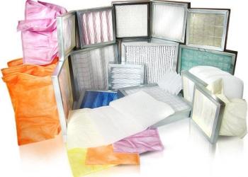 Фильтры вентиляционные собственного производства