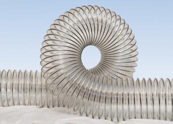 Воздуховоды (рукава) универсальные абразивостойкие из полиуретана
