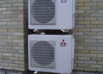 Установка кондиционеров и вентиляции