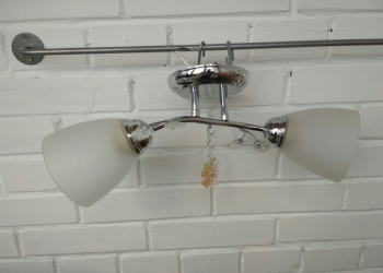 Новая люстра на 2 лампы Л-34