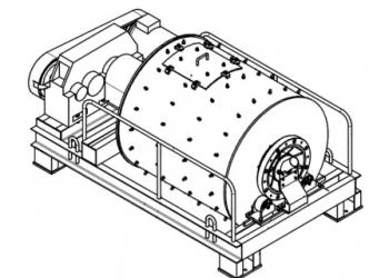 МШН-2 - мельница шаровая непрерывного действия  от производителя