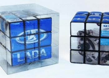 Необычный корпоративный подарок для интеллектуальных сфер бизнеса - кубик Рубика