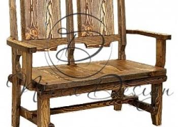 Деревянная мебель для кухни под старину