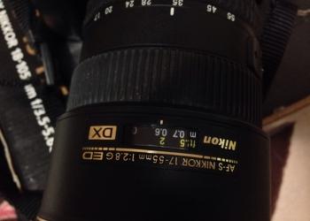 Продаю фотоаппарат  Никон D7000 и объектив Nikkor Af-S 17-55