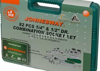 Набор инструментов Jonnesway S04H52482S, 82 предмета