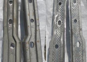 Накладка железнодорожная стыковая переходная для рельс Р65/Р50, Р50/Р43