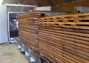 Предлагаем услугу по термообработке древесины