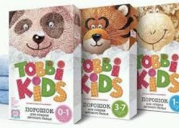 Стиральный порошок Tobbi Kids