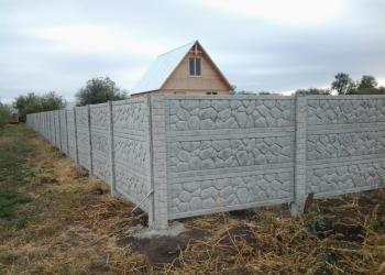 Забор гранилит