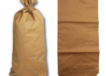 Мешки бумажные (КРАФТ) открытые