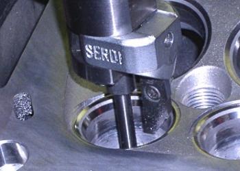 Ремонт головок блока на оборудовании SERDI