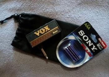 Продам усилитель для наушников VOX amPlug Bass.