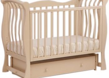 Кровать детская Кубаньлесстрой БИ 07.2 Ландыш слоновая кость