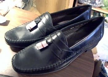 Туфли Florsheim, 47 размер. Черные кожаные новые.