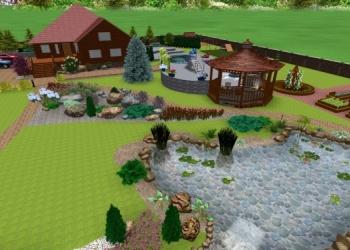 Ландшафтный дизайн,садовник