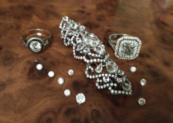 Топазы, изумруды, аквамарины, бриллианты от 3000 руб за камень