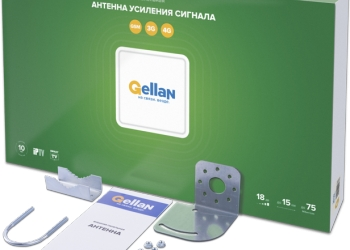 Внешняя панельная антенна GELLAN FullBand-18