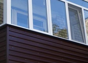 Остекление, отделка балкона и лоджии в Воронеже.