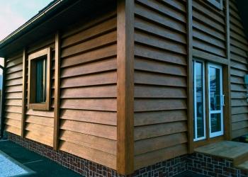 Отделка сайдингом деревянного, каркасного, кирпичного дома в Пензе