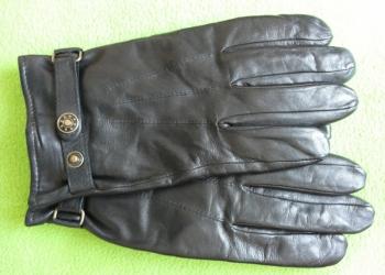 Перчатки мужские кожаные фирмы ТСМ