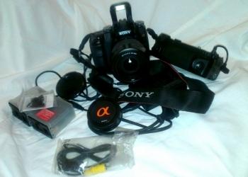 Цифровая зеркальная камера Sony dslr-A100