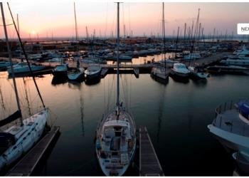 Порт(Marina) в Испании
