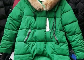 Зимняя куртка с опушкой оптом