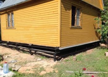 Замена фундамента-Подъем и Перенос дома