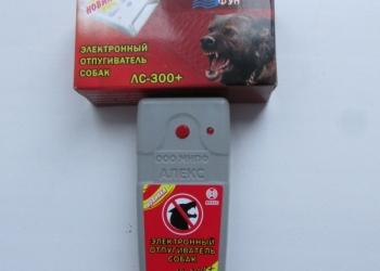 Ультразвуковой отпугиватель против собак антидог Тайфун ЛС 300 + средство защиты