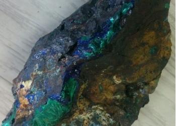 Коллекционный заринит. минералы