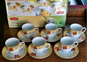 Продаю: Фарфоровый чайный сервиз.