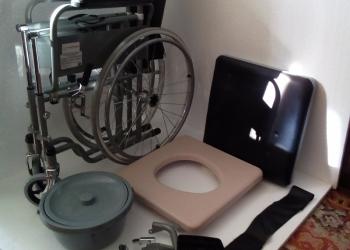 Кресло коляска для инвалидов с сан. устр.