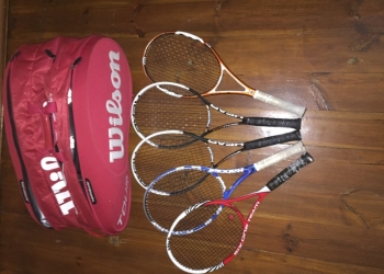Теннисные ракетки и сумка