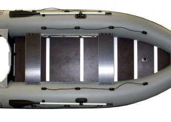Надувная лодка Фрегат М-390 пвх под мотор