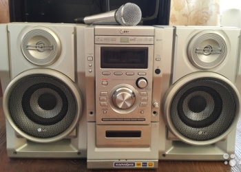 Продам музыкальный центр LG LX-K3350
