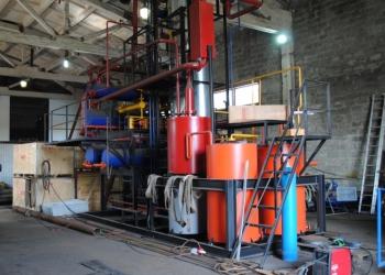 Мини установка по производству печного топлива мощность 100м3 в сутки а/вакуумна