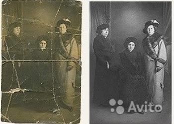 Реставрация старых фото. Преобразование в цветное