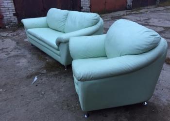 Кожаная мягкая мебель из Европы. Диваны и кресла.
