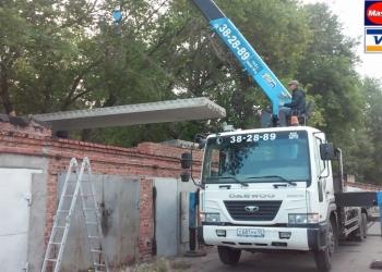 Перевозка строительных материалов/негабарит