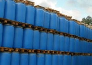 Покупаем бочки пластиковые 227 л  б/у с крышкой под хомут