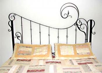 Кованая кровать Флейта