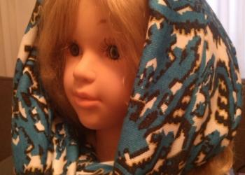 шарф -платок трикотажный