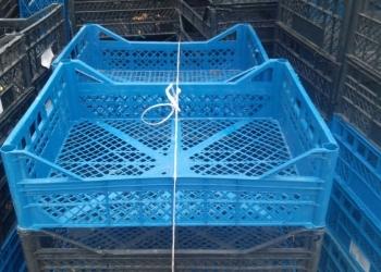 Пластиковые ящики б/у
