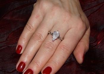 Кольцо платина и бриллианты 3ct.