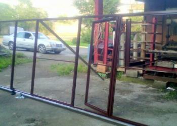 Изготовлю комплект откатных ворот 2000х4000