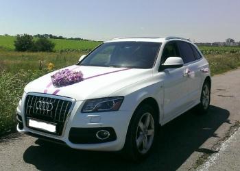 Авто с водителем на свадьбу (Audi Q5).
