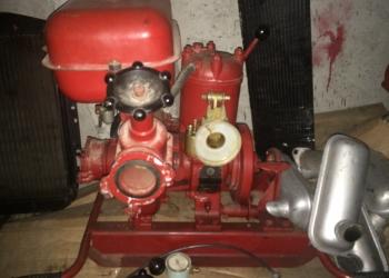 Мотопомпа пожарная МП-600.