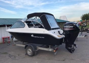 Комплект Новой пластиковой Лодки PHOENIX-530HTс лодочным мотором MercuryF80EFI
