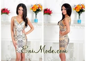 Бандажное платье Eni mode