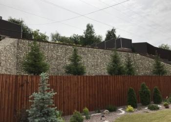 Берегоукрепление габионами Подпорные стены